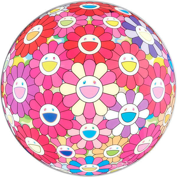 Takashi Murakami, 'Flower Ball (3D) - Groping for the Truth', 2013, Vernissage Art Advisory
