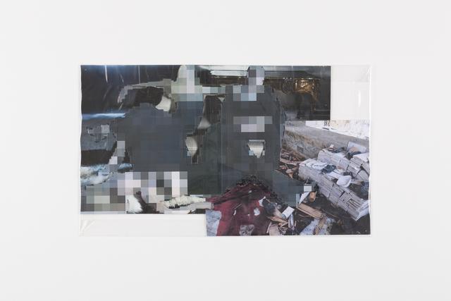 , 'Pixel Collage no. 104,' 2017, GRIMM