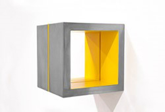 , 'Split Cube (Yellow),' 2015, William Campbell Contemporary Art, Inc.