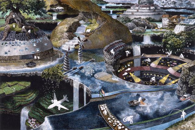 , 'Settlement,' 2009, Japan Society