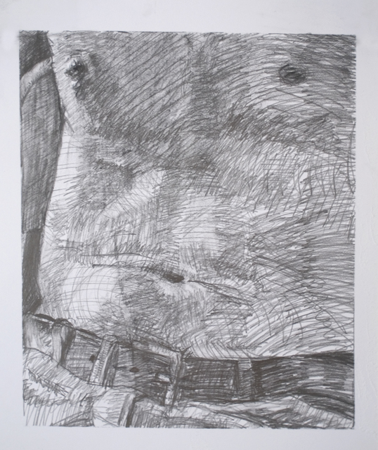 , 'Shirtless,' 2016, Galleri Urbane