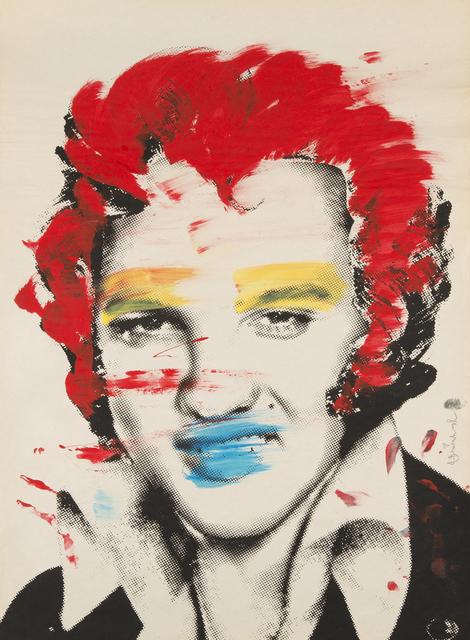 Mr. Brainwash, 'Elvis - Red Hair', Julien's Auctions