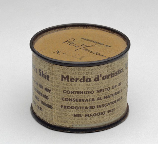 Piero Manzoni, 'Artist's Shit, no. 31,' 1961, ARS/Art Resource