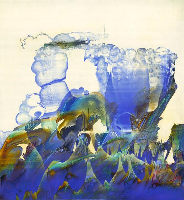 , 'Fumérol Cobalt,' 2018, Galerie D'Este
