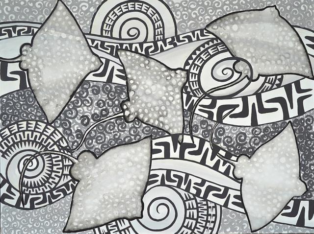 Erub Arts, 'Eagle Rays', 2019, JGM Gallery