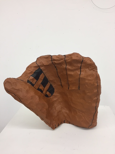 Mary-Ann Monforton, 'Baseball Mitt', 2018, Air Mattress Gallery