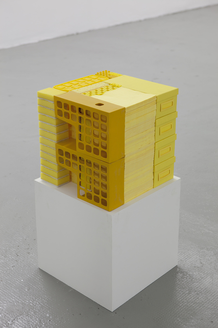 , 'Stack – Yellow ,' 2014, The Flat - Massimo Carasi