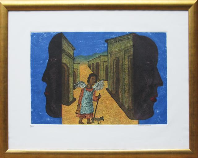 , 'Sin título (Mujer con perro),' , Galeria Oscar Roman
