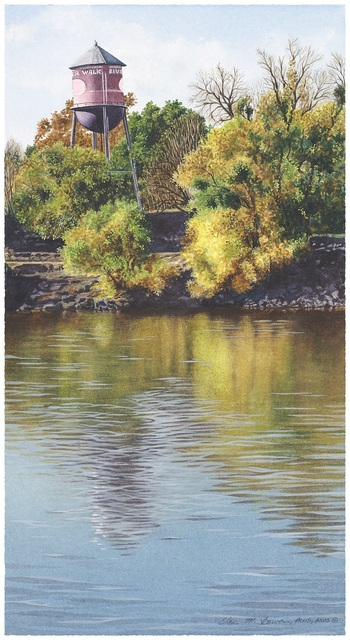 Elaine Bowers, 'River Walk', Sparrow Gallery