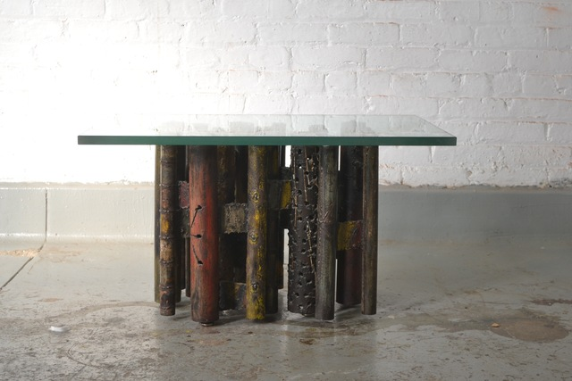 , 'Pipe Table,' ca. 1960, Hostler Burrows