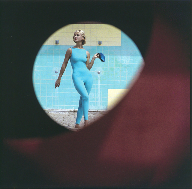 , 'Skin-tight Suit, Malibu, California,' 1958, Robert Klein Gallery