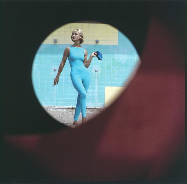 , 'Skin-tight Suit, Malibu, California,' 1958, Robert Klein Gallery