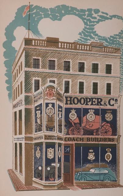 Eric Ravilious, 'Hooper & Co. Coach Builders', 1903-1942, Liss Llewellyn