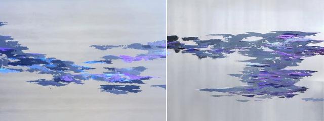 , 'Fluidity #6 (diptych) ,' 2015, ARTI.NYC