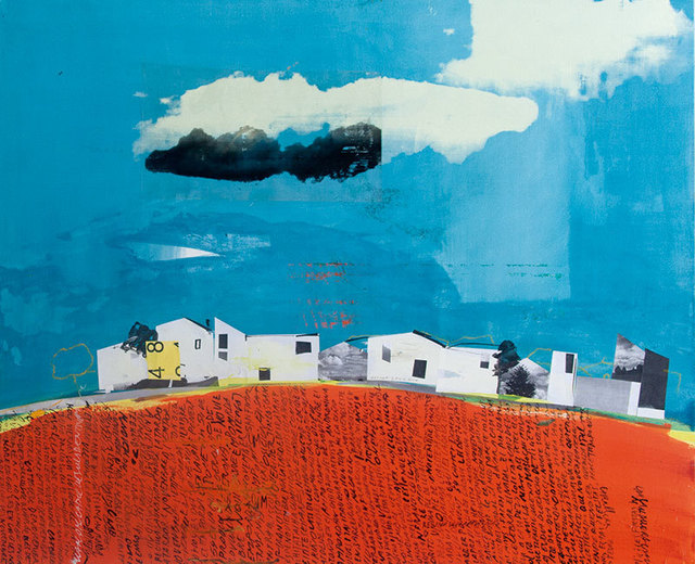 , 'Viladamat (Village in Spain),' 2015, Caldwell Snyder Gallery