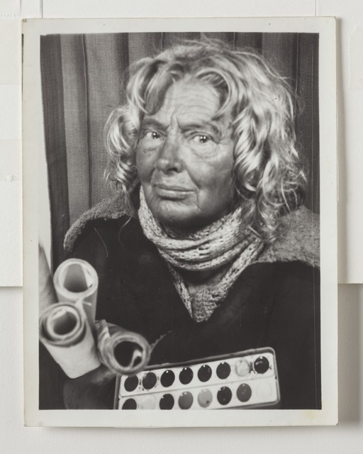 , 'Untitled (photo booth self-portrait),' 1970s, Intuit: The Center for Intuitive and Outsider Art