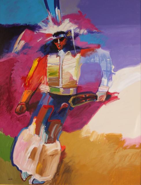 John Nieto, 'Feather Dancer', 1987, EastCoastArt