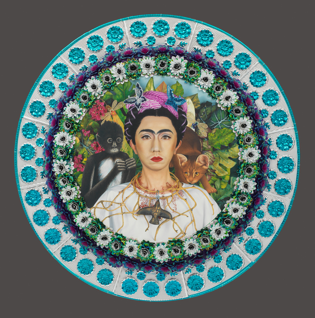 , 'An Inner Dialogue with Frida Kahlo (Collar of Thorns),' 2001, San Jose Museum of Art