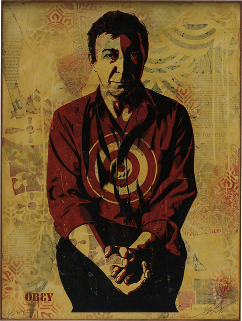 Shepard Fairey (OBEY), 'Jasper Johns Cream', 2010, Phillips