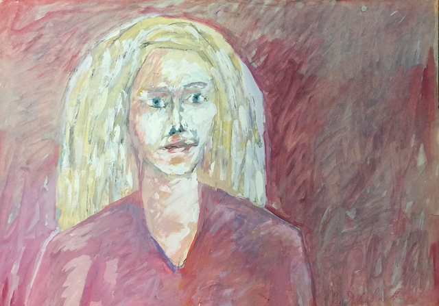 , 'Portrait of a young girl in pink tones,' 1978, ART4