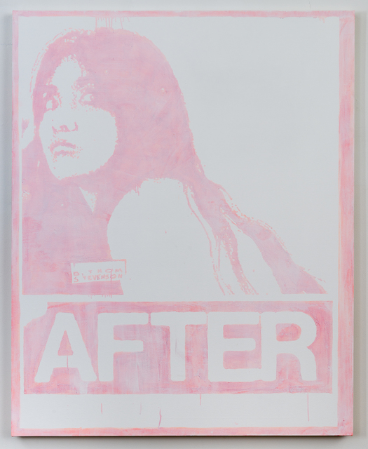 , 'After (Peroxide Painting),' 2015, Castor Gallery