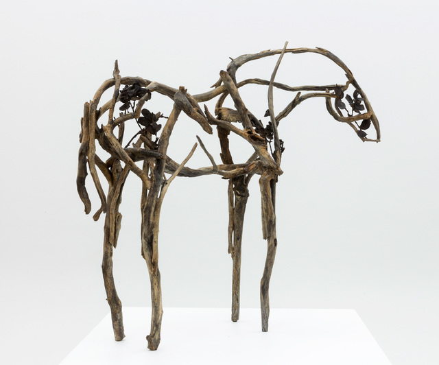 Deborah Butterfield, 'IKEPELA', 2016, Sculpture, Bronze with patina and hand polishing, Greg Kucera Gallery