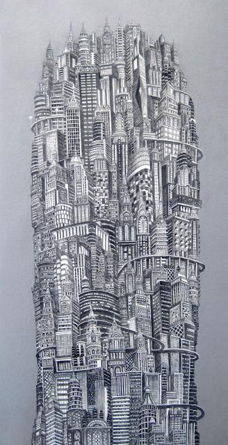 , 'Silver Tower,' 2014, Elisa Contemporary