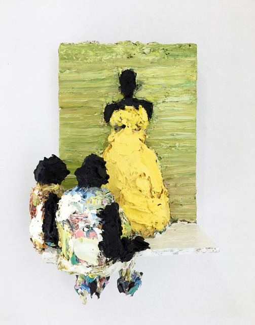 , 'Duchess in yellow,' 2018, Galerie C.O.A
