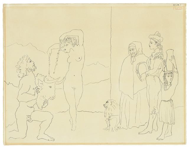 Pablo Picasso, 'La danse des banderilles', 1954, Christie's