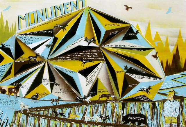 , 'Monument,' 2012, Newzones