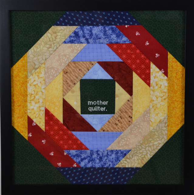 , 'mother quilter,' ca. 2014, InLiquid