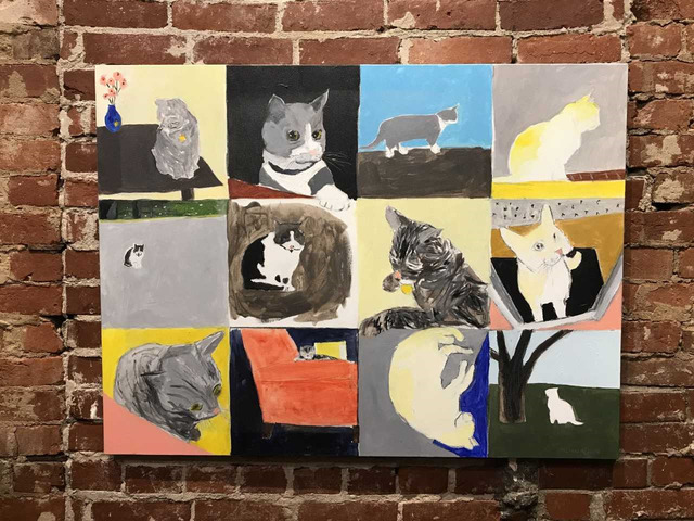 , 'My Visitors,' 2018, Mason-Nordgauer Fine Arts Gallery