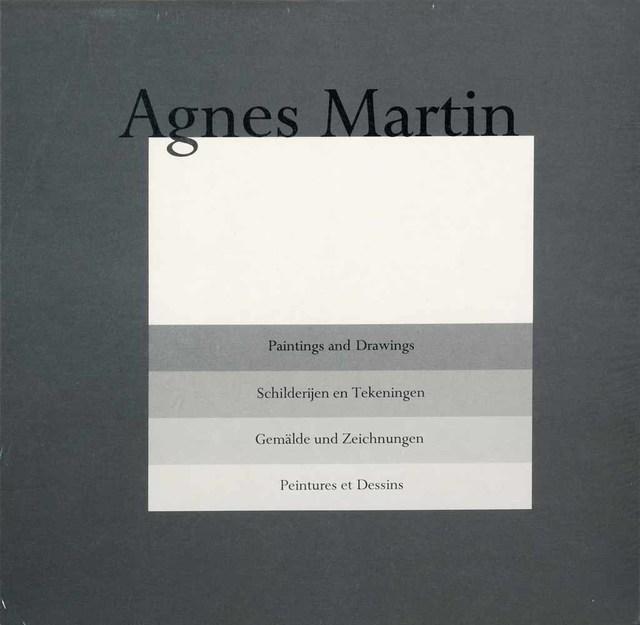 Agnes Martin, 'Book w/prints Hardcover portfolio', Unknown, Books and Portfolios, Velum, Addison Rowe Gallery