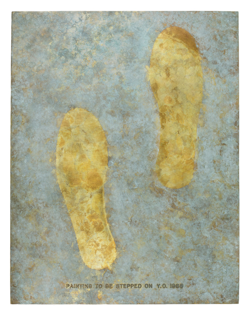 Yoko Ono, 'Painting to Be Stepped On (Bronze, cast of 1966 version)', 1988, Galerie Lelong & Co.