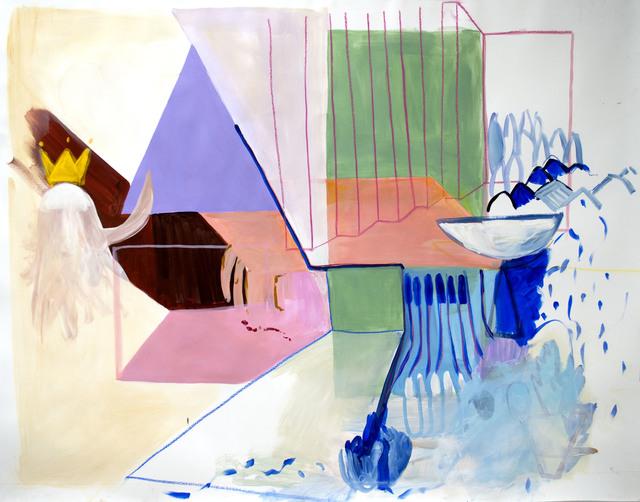 , 'Escena con barco y fantasma,' , Miranda Bosch