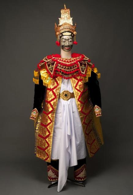, 'Mask and costume for the character of Rama,' 1994, Musée national des arts asiatiques - Guimet