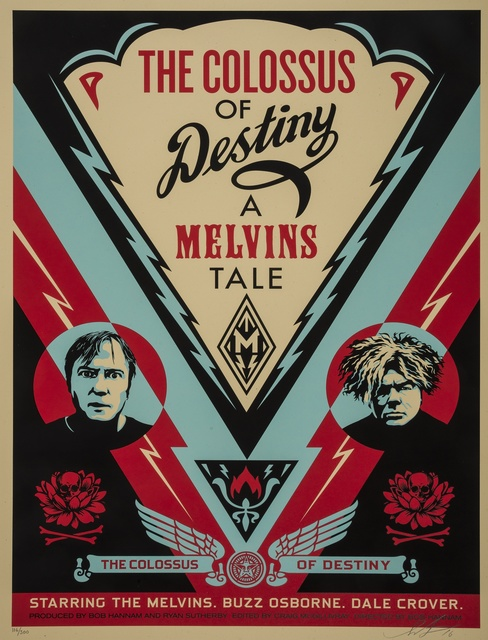 Shepard Fairey (OBEY), 'Melvins Colossus', 2017, Forum Auctions