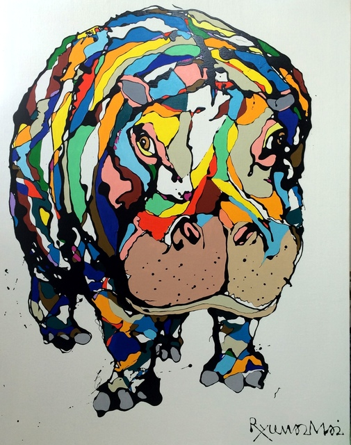 , 'Hippo,' 2014, Heis Gallery