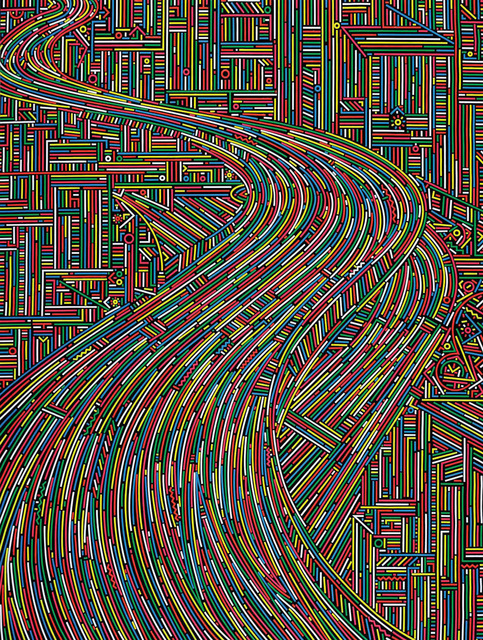, 'City Stream No.5,' 2014, ART LABOR Gallery