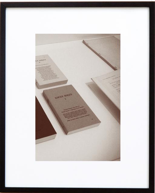 Cecilia Szalkowicz, 'El arte de la conversación  (The Art of Conversation)', 2014, Photography, Monochrome photographs with gradual color  variation. Giclée print on cotton paper, Nora Fisch