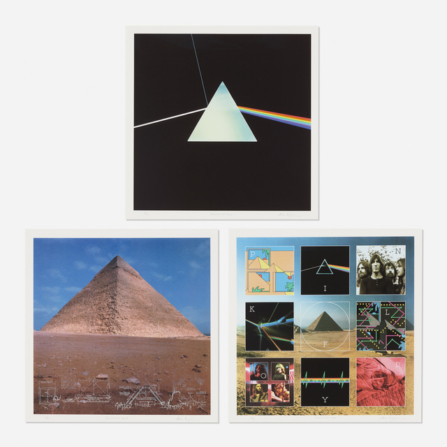 Storm Thorgerson, 'three works from The Dark Side of the Moon 0303 Boxset', c. 1973, Wright