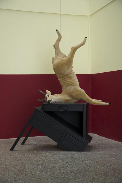 , 'Estudio de venado,' , Galería Doce Cero Cero