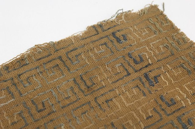 , 'Woven Textile,' Chancay Period, 1100, 1300, West Den Haag