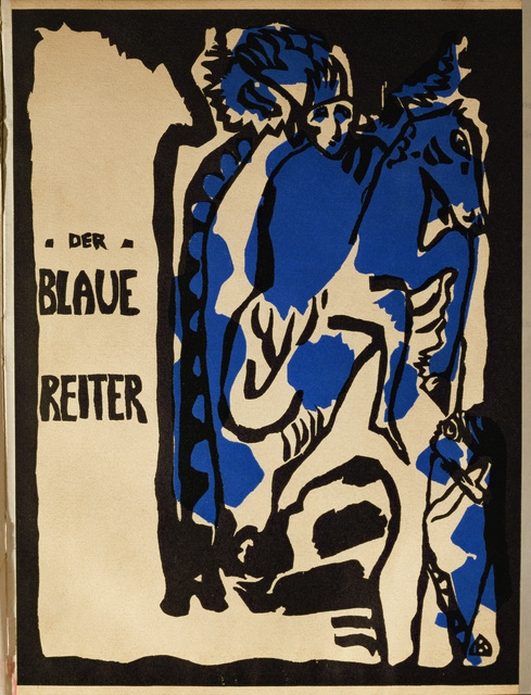 """Wassily Kandinsky, 'Cover of the magazine """"Der Blaue Reiter,"""" Berlin', 1912, Erich Lessing Culture and Fine Arts Archive"""