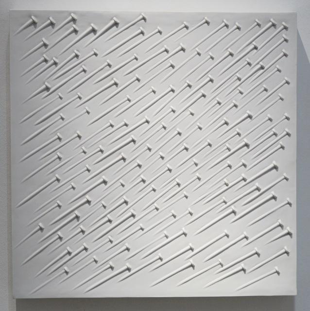 Günther Uecker, 'Weißer Regen', 1968, Galerie Leu