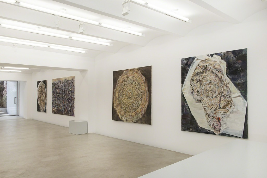 Installation view Franziska Klotz Galerie Kornfeld, Berlin March 12 – April 16, 2016