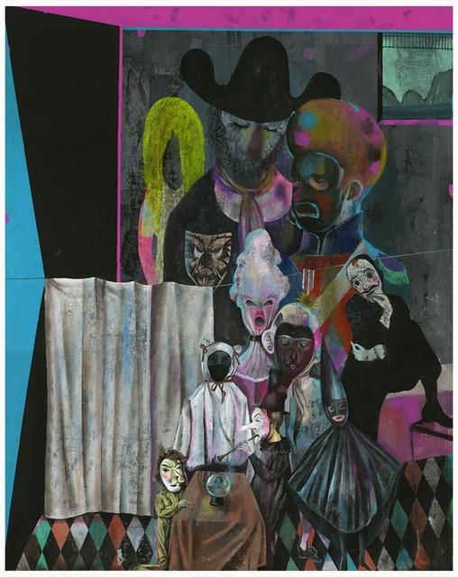 Olaf Hajek, 'Wahrsager', 2013, Anna Jill Lüpertz Gallery