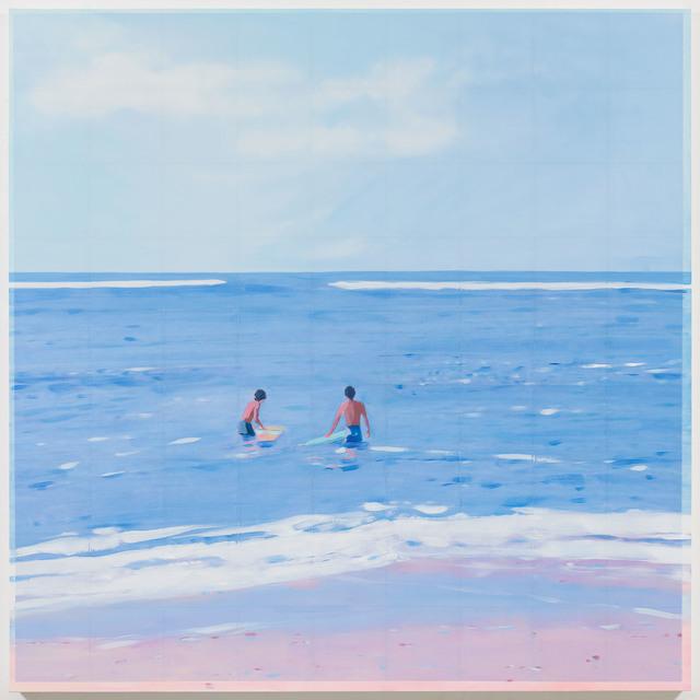 , 'Surfers,' 2017, Berggruen Gallery