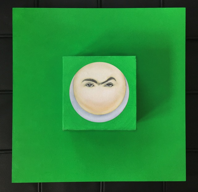 , 'Moon-Frida in Green,' 2015, Studio 905 on Juniper