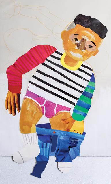 , 'Self-Portrait in Pink Underwear,' 2016, Zevitas Marcus